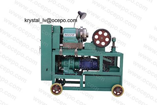 Semi Automatic Rebar Thread Cutter Steel Cutting Machine Gzl 45