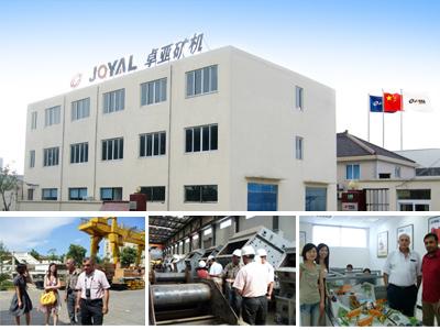 Shanghai Joyal Mining Machinery Co Ltd