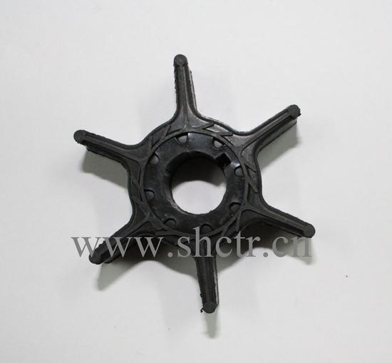 Shctr J 181 Rubber Outboard Impeller Used For Yamaha 63v 44352 00 Oem No S1