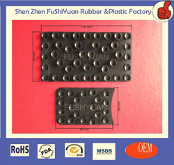 Shenzhen Factory Customize Rubber 10 Vacuum Suction Cup Lifter With Meta