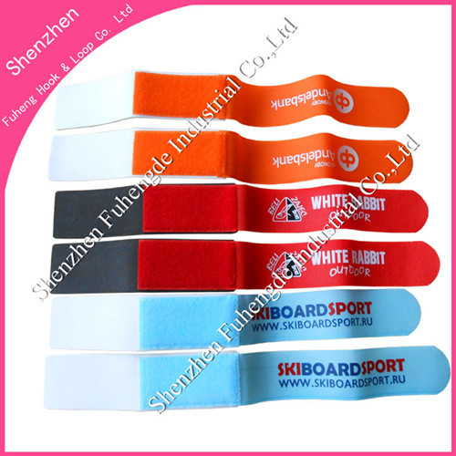 Shenzhen Factory Supply Quality Velcro Ski Strap