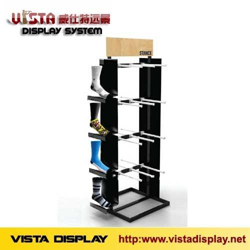 Shoes Display Rack Metal Stand For Socks