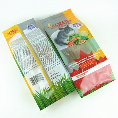 Side Gusset Laminated Pet Food Bags