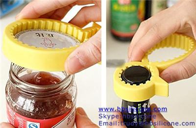 Silicone Bottle Opener Tool