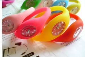 Silicone Bracelet Watch Gift Promotion