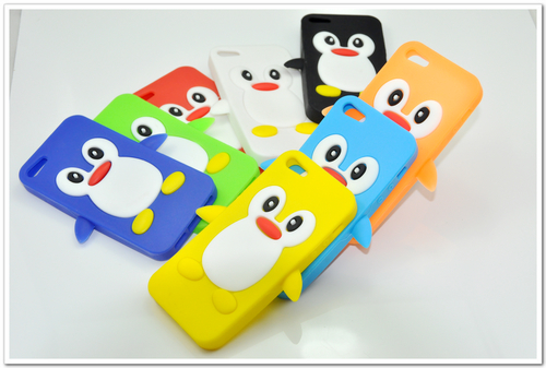 Silicone Cases Penguin Pattern