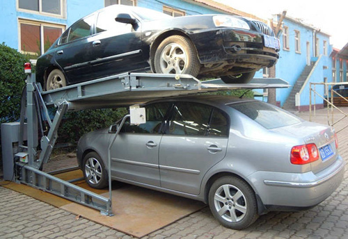 Simple Lift Type Hydraulic Tilting Mechanical Parking System