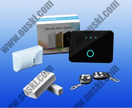 Simple Operation App Gsm Wireless Smart Alarm System A6