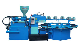 Single Color Tpr Tpu Pvc Sole Making Machine