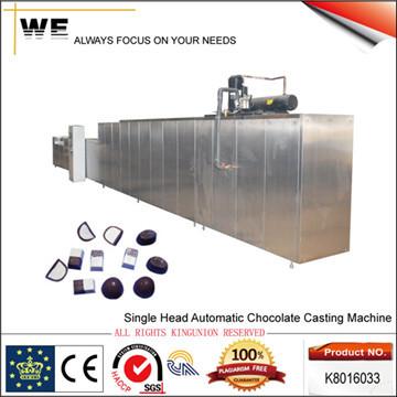 Single Head Automatic Chocolate Casting Machine