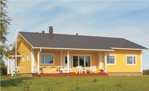 Single Storey Wooden House