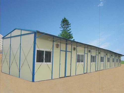 Single Story Prefabricated House Gz Prf 1007