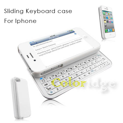 Sliding Bluetooth Keyboard Case For Iphone