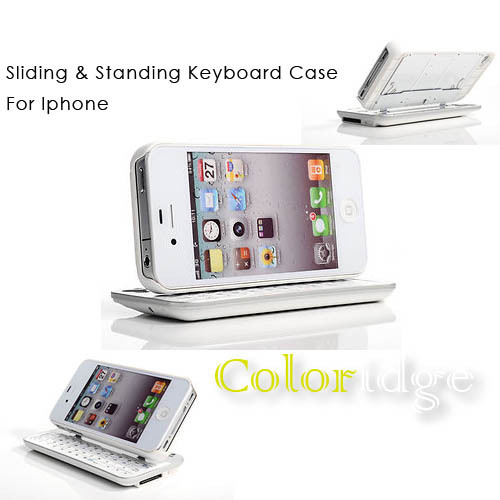 Sliding Standing Keyboard Case For Iphone