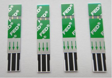 Smart Blood Glucose Test Strips
