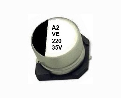 Smd Aluminum Electrolytic Capacitor Ve Series