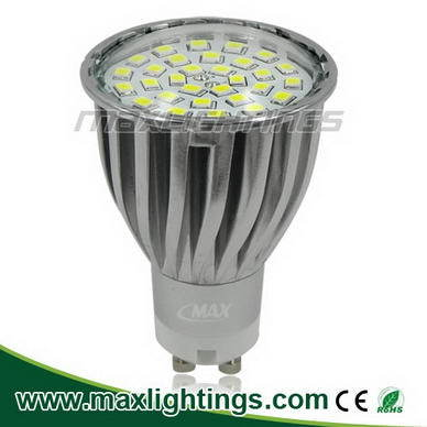 Smd Led Spot Light Bulb Gu10 30smd 2835 Ca