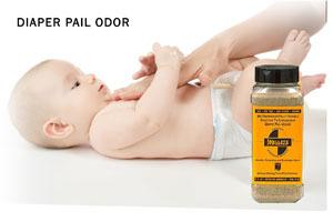 Smelleze Eco Diaper Pail Smell Removal Granules 2 Lb