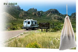 Smelleze Reusable Rv Camper Trailer Odor Removal Pouch Large