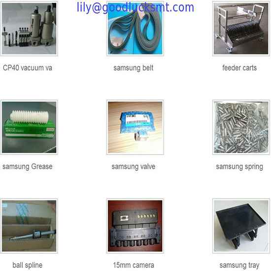 Smt Spare Parts For Samsung Cp40 Cp45 Cp60