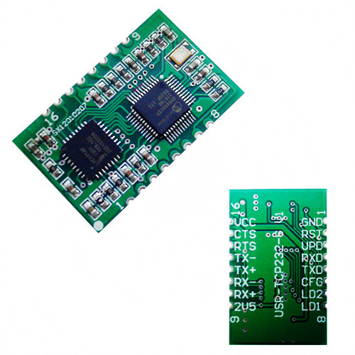 Smt Type Ttl To Ethernet Module With Free Software