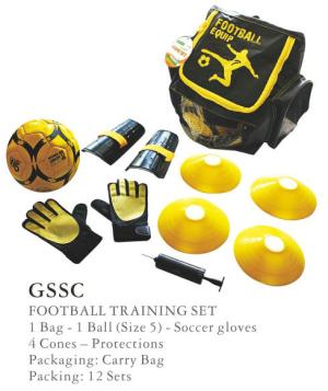 Soccer Back Pack Football Set Gssc