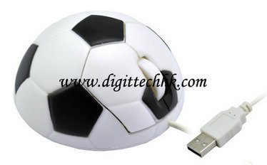 Soccer Football Usb 3d Optical Mouse Mice Pc Laptop