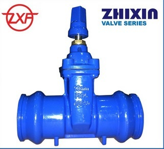 Socket End Gate Valve With Stem Cap Size 110mm
