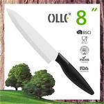 Soft Touch 8 Inch Ceramic Chef Knife