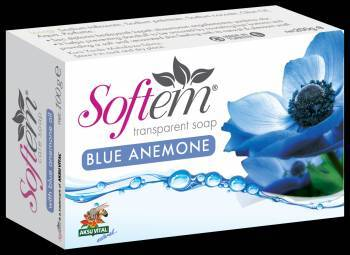 Softem Natural Herbal Soap With Blue Anemone