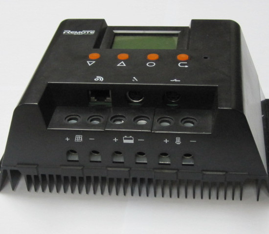 Solar Charge Controller Power System With Lcd Display