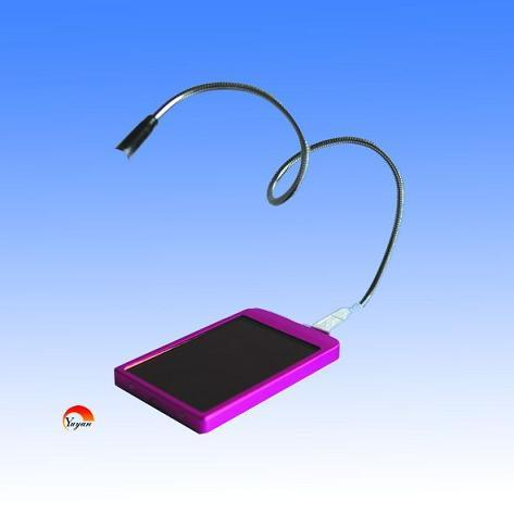 Solar Charger With Usb Interface Of Led