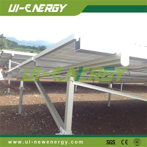 Solar Energy Products Ground Mounting System Racks For Power Pl