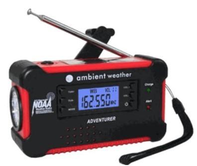 Solar Hand Crank Radio