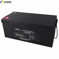 Solar Panel Battery Agm 12v200ah For Ups Emergency