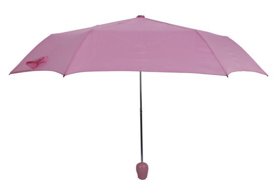 Solid Color Foldable Rose Bottle Gift Umbrella
