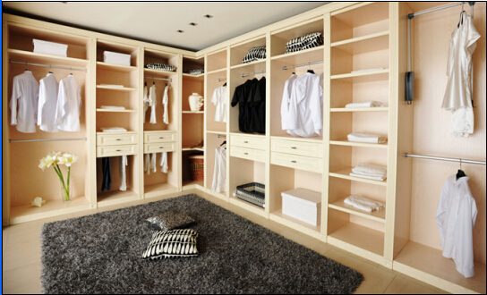 Solid Wood Integrated Wardrobe