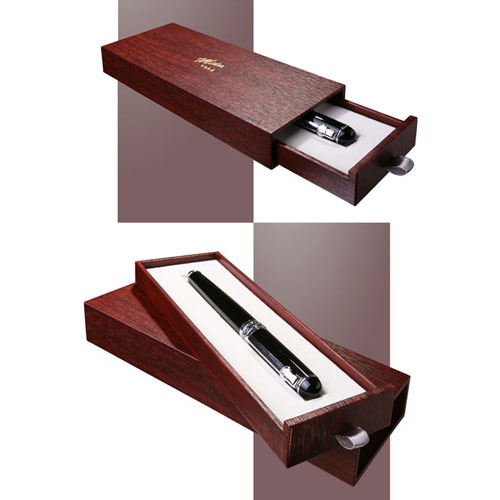 Solid Wood Pull Out Drawers Pen Box