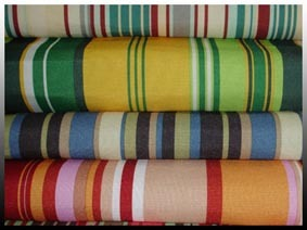 Solution Dyed Polyester Stripes