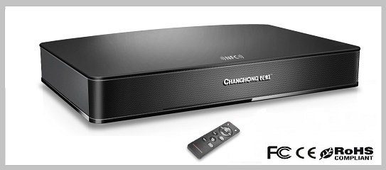 Sound Bar Bluetooth Speaker Soundbar For Home Theater Music System With Bui