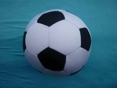 Spandex Materal And Eco Friendly Foam Particles Stuffing Football Toy