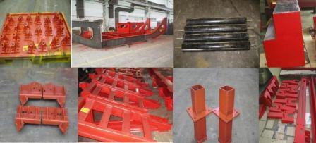 Spare Parts Of Track Mounted Screening Plant
