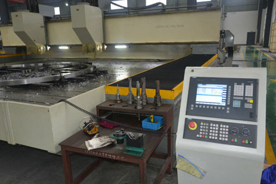 Special Machine For Tube Sheet Drilling High Speed Max Diameter 6000mm