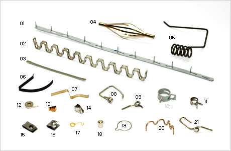 Special Shaped Springs And Clip