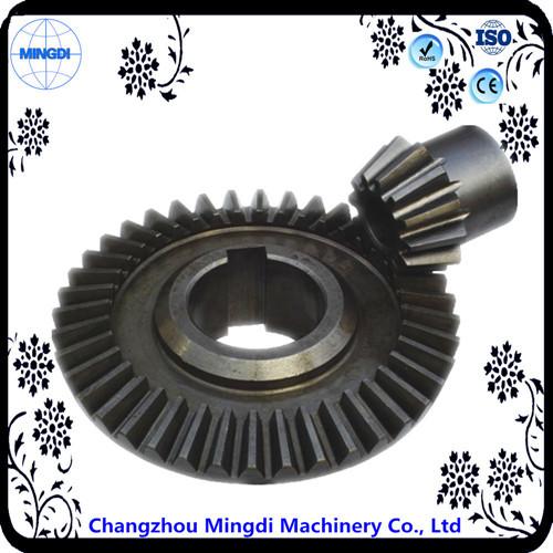 Spiral Bevel Gear Wheel Transmission Parts For Slush Machine