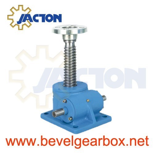 Spiral Worm Gear Screw Jack Lift Capacity 30mm