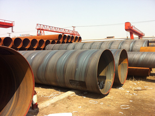 Spirally Welded Steel Pipe With Higy Quality