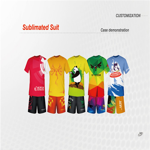 Sports Apparel T Shirt And Shorts Customization