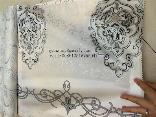 Spring Net Satin Fabric Printing Mattress Quilt