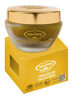 Spumy Organic Orange Oil Anti Cellulite Cream